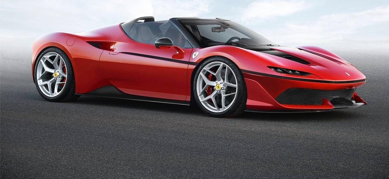J50 é um dos modelos produzidos em edição limitada pela Ferrari - Divulgação
