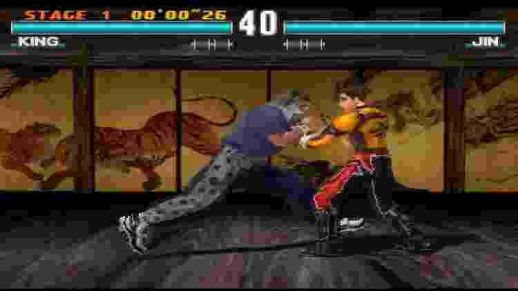 """""""TEkken 3"""" é um dos jogos mais lembrados pelos jogadores que jogaram no console. - Reprodução"""
