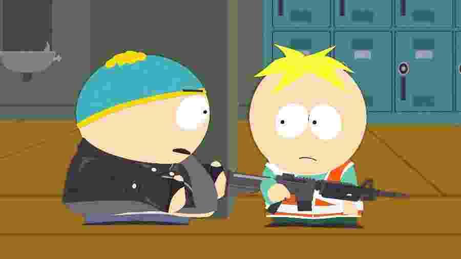 """Cena da 22ª temporada de """"South Park"""", que estreia 8 de outubro de 2018 no Comedy Central - Divulgação/Comedy Central"""