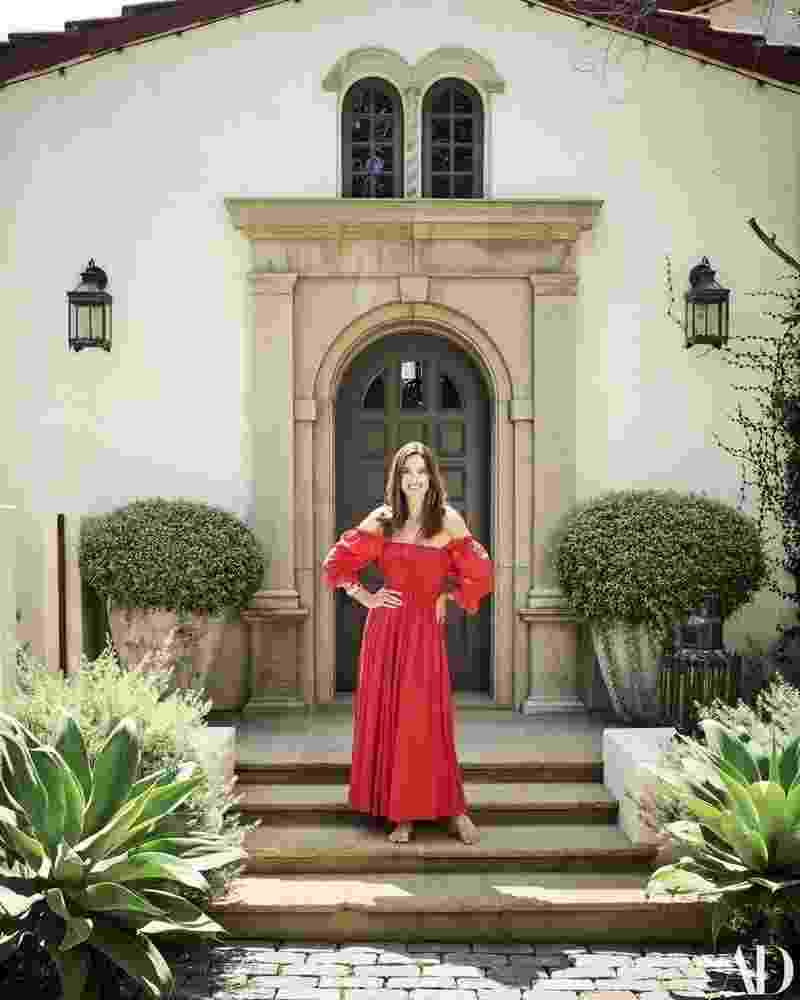 A casa de Alessandra Ambrosio em Santa Monica, nos Estados Unidos - Douglas Friedman/Architectural Digest
