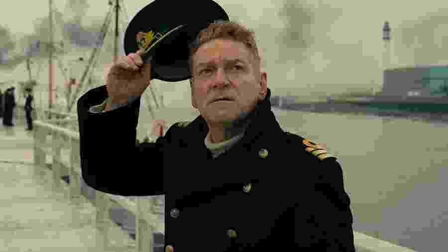 """Kenneth Branagh em cena de """"Dunkirk"""" - Divulgação"""