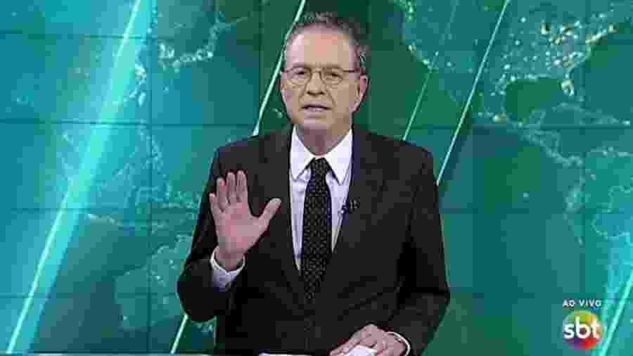 Hermano Henning trabalhou no SBT durante 23 anos; hoje está no canal UHF Rede Brasil - Reprodução/SBT