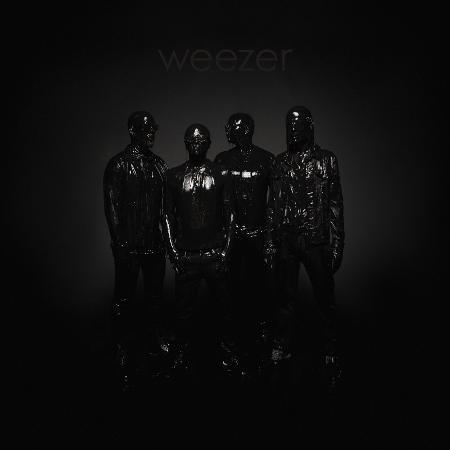 """Capa do """"Black Album"""", novo disco do Weezer - Reprodução/Twitter"""