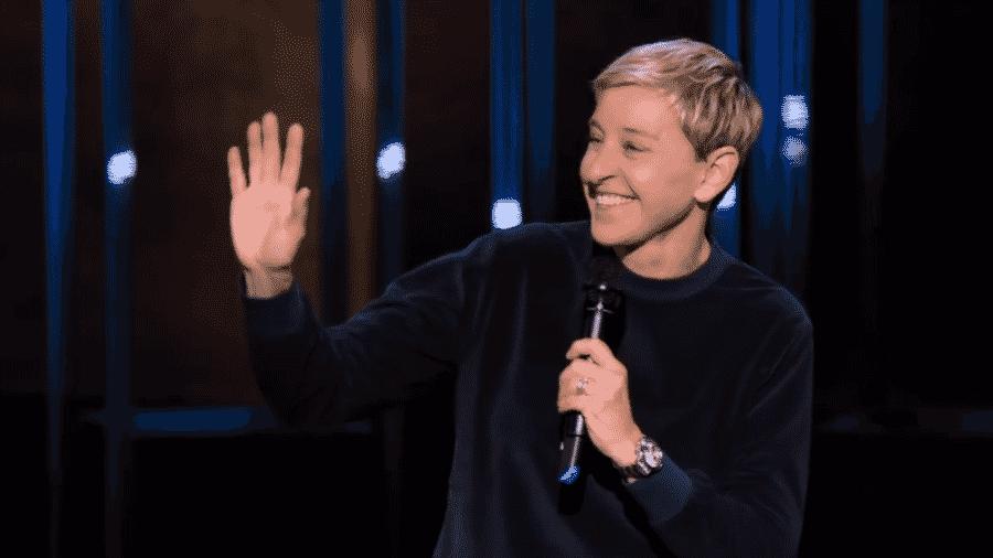 """Cena de """"Ellen DeGeneres: Bem Relacionada"""" - Reprodução/YouTube"""