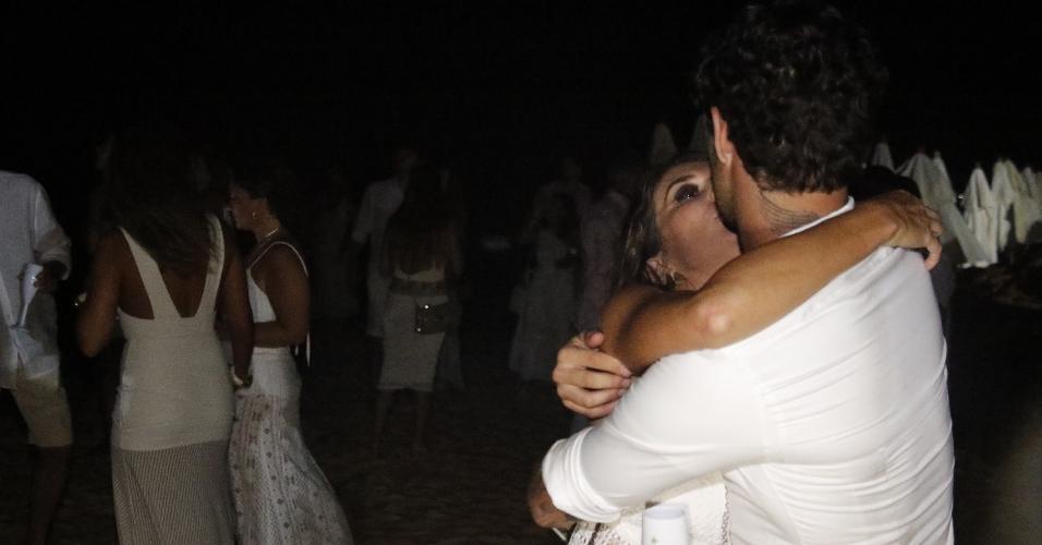 Rebeca Abravanel e o jogador Alexandre Pato