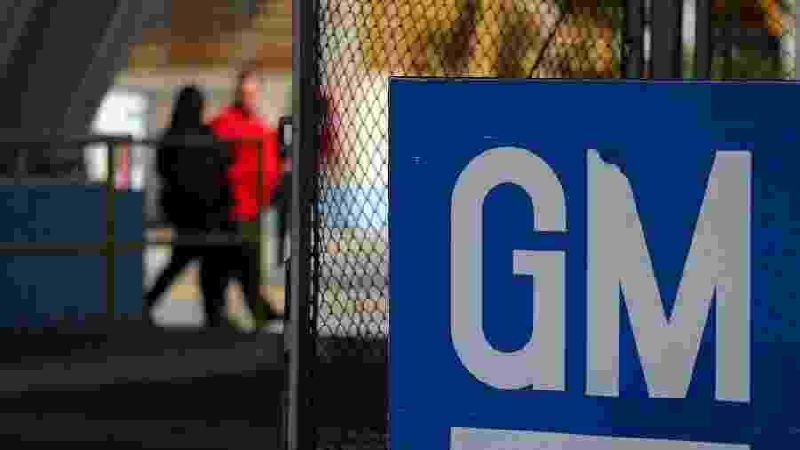 Portaria da GM em São José dos Campos (SP) - Roosevelt Cassio/Reuters