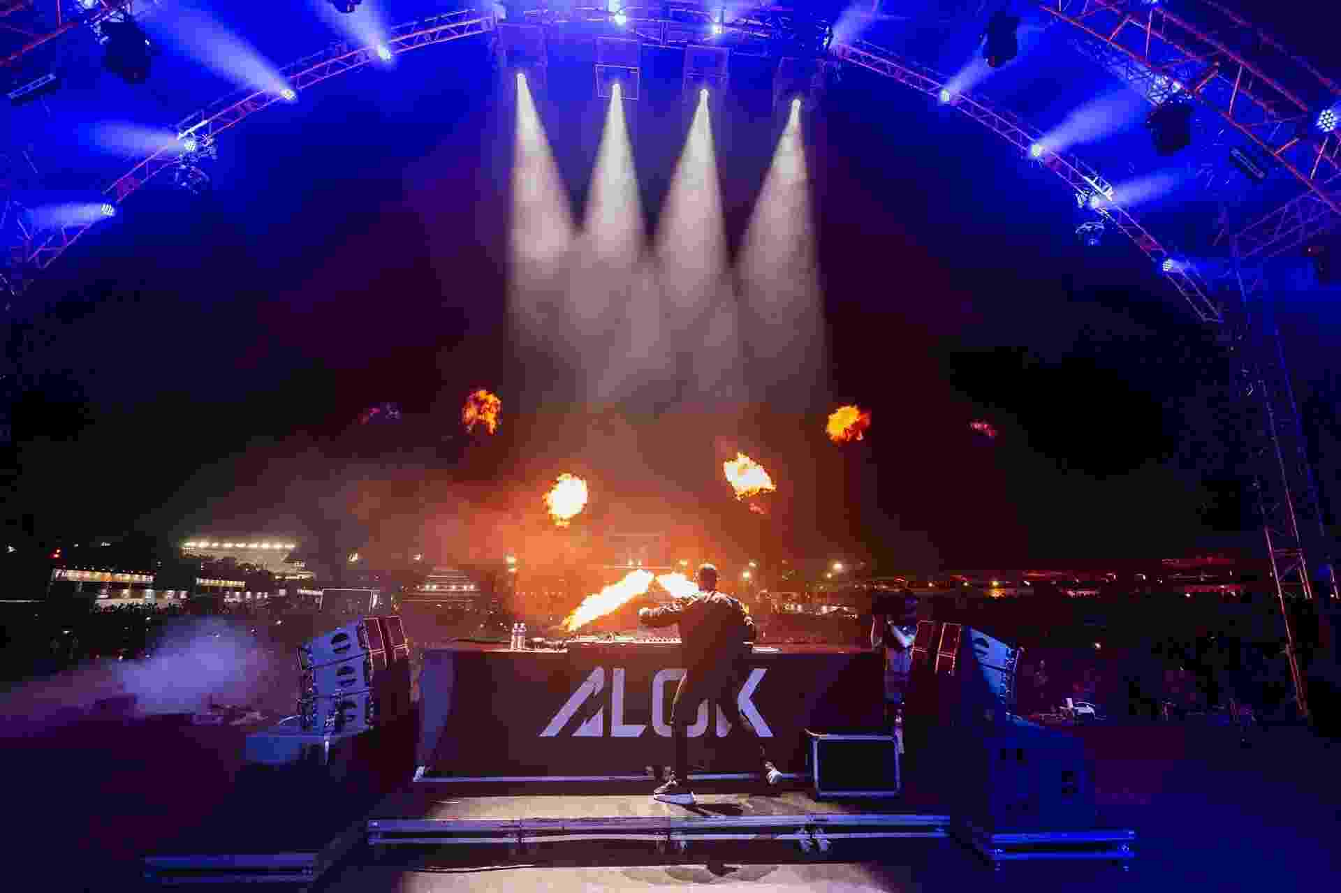 O DJ Alok no Festival CarnaUOL 2019 - Mariana Pekin/UOL