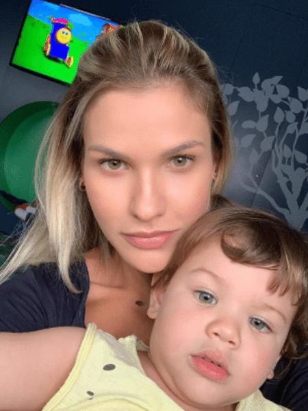 Andressa Suita com Gabriel - Reprodução/Instagram