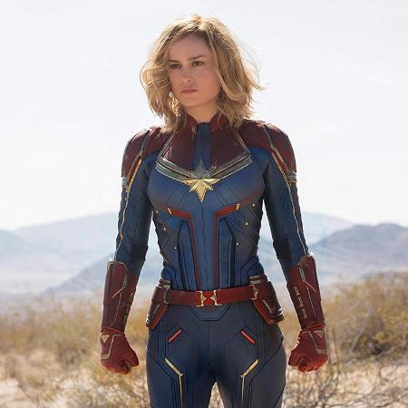 """A Capitã Marvel de Brie Larson se tornou a chave do futuro pós-""""Vingadores"""" - Divulgação"""
