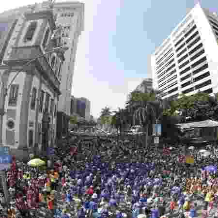 Monobloco é uma das principais atrações do domingo de pós-Carnaval no Rio - Marcelo de Jesus/UOL