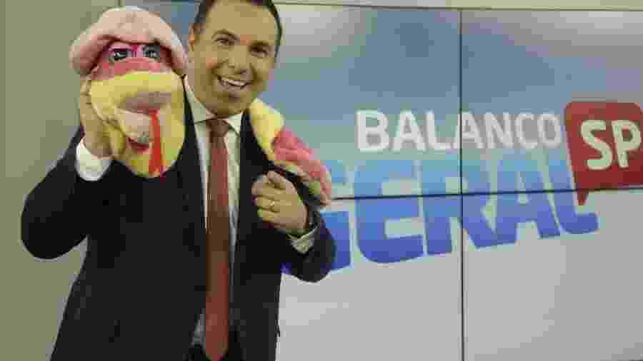 """Reinaldo Gottino, apresentador do """"Balanço Geral"""", da Record - Antonio Chahestian/RecordTV Comunicação"""