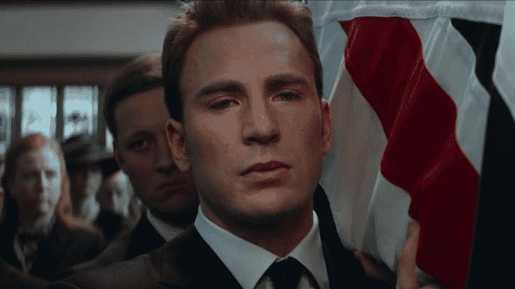 """Steve Rodgers da linha temporal que conhecemos em cena """"Capitão América: Guerra Civil"""" - Reprodução"""