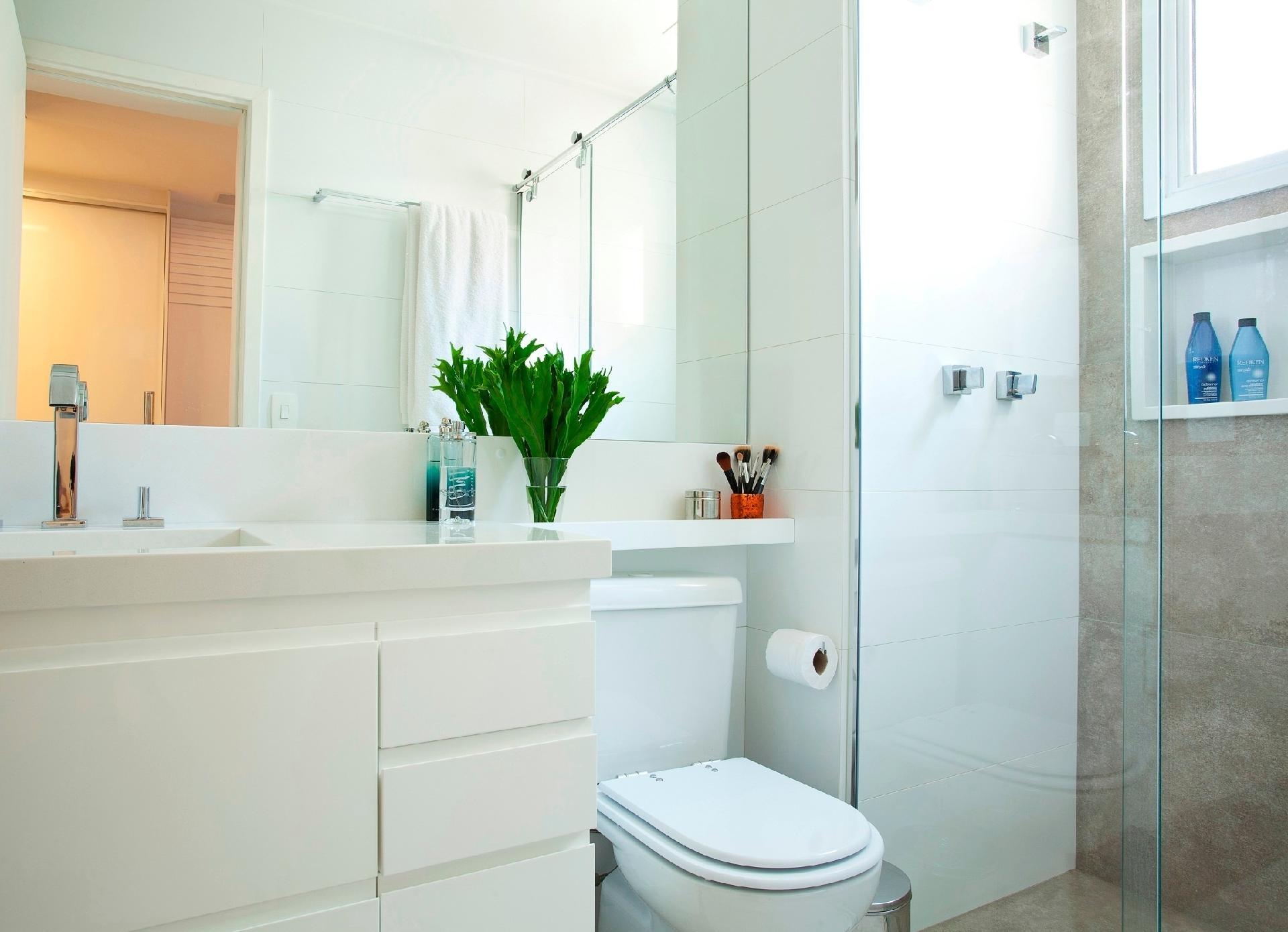 Fotos Boas Ideias Ajudam A Ganhar Espaço Em Banheiros
