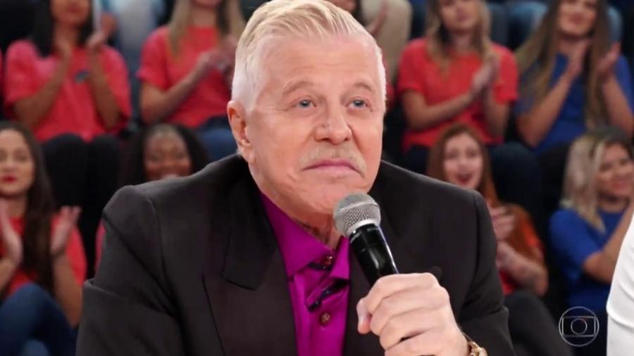 Miguel Falabella no Domingão do Faustão - Reprodução/TV Globo