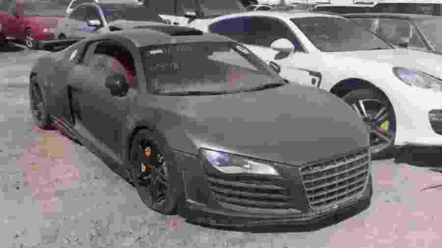 Carrões da Audi, Ferrari e Lamborghini são abandonados em pontos de Dubai - Reprodução