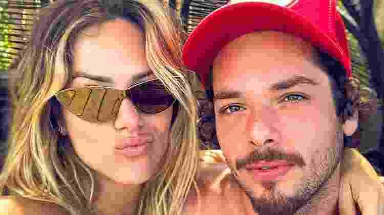 Giovanna Ewbank com o irmão Gian Luca Ewbank; além de irmãos, os dois são muito amigos - Reprodução/Instagram - Reprodução/Instagram