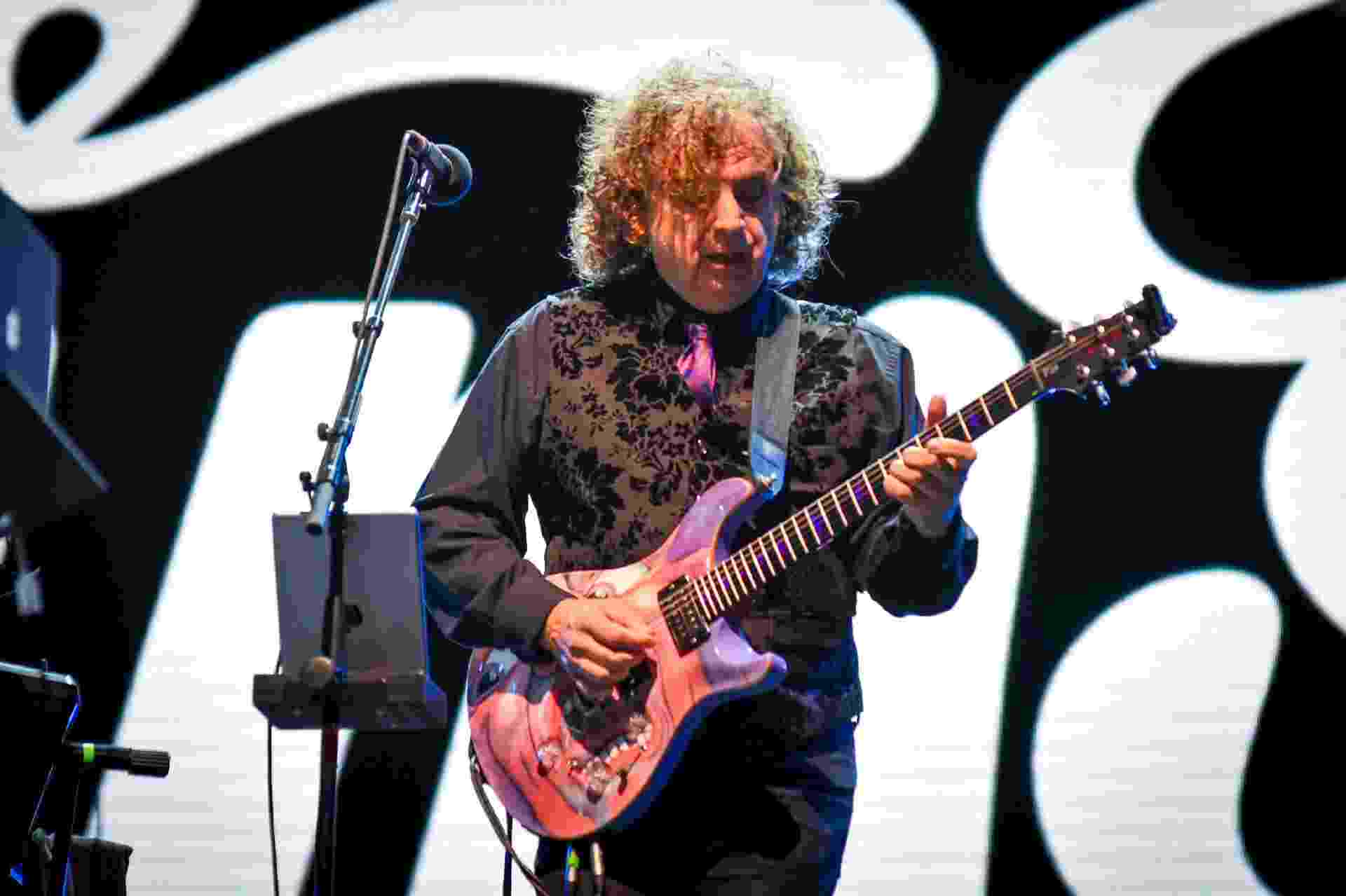 Jakko Jakszyk, vocal e guitarra do King Crimson, no Palco Sunset do Rock in Rio 2019 - FERNANDA BALSTER/FOTOARENA/ESTADÃO CONTEÚDO