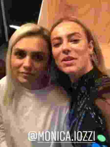 """As loiras de """"A Dona do Pedaço"""" Mônica Iozzi e Paolla Oliveira - Reprodução/ Instagram"""