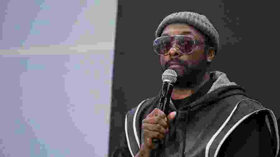 Will.i.am concede entrevista coletiva na Cidade do México - Victor Chavez/Getty Images