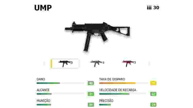 Free Fire UMP - Reprodução - Reprodução