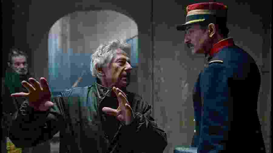 """Roman Polanski dirige Jean Dujardin em J""""Accuse: O Oficial e o Espião - Divulgação/IMDb"""