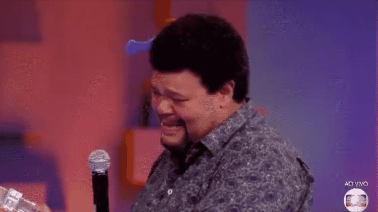 Babu chora ao ganhar carro zero quilômetro - Reprodução/TV Globo - Reprodução/TV Globo