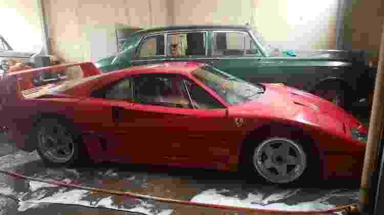 Scott Chivers Caçador de Ferraris F40 Iraque Erbil filho do Saddam Hussein uday lateral - Reprodução - Reprodução