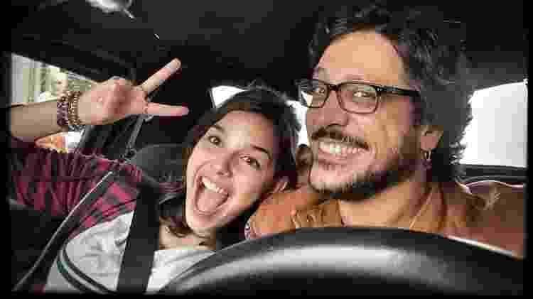 Gabriela Medvedovski e Lúcio Mauro Filho - Reprodução/ Instagram - Reprodução/ Instagram