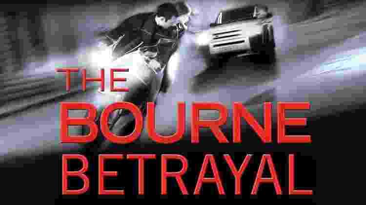 """Imagem da versão em inglês do livro """"A Traição de Bourne"""", de Eric Van Lustbader - Reprodução/Facebook - Reprodução/Facebook"""