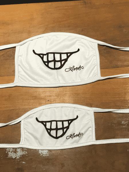 Máscara criada por Ziraldo para o projeto Contagiando Sonhos - Divulgação - Divulgação