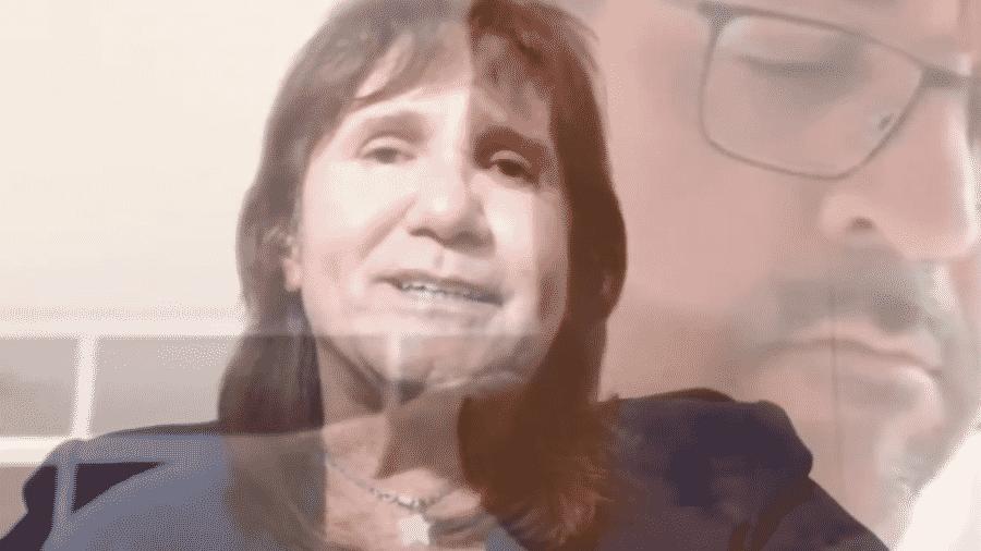 Sósia de Roberto Carlos homenageia Weintraub - Reprodução/YouTube