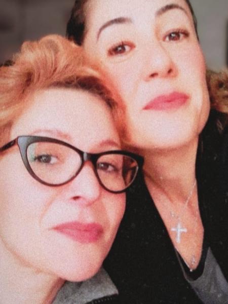 Patricia Marx e a namorada, Renata Pedreira  - Reprodução/Instagram