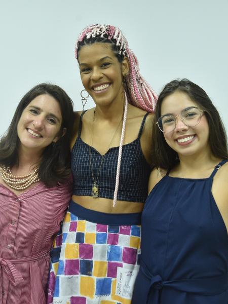 As mulheres do M.I.N.A.s: da esq. para a dir., Marcela Valença, Andressa Cerqueira e Amanda Lopes - Divulgação