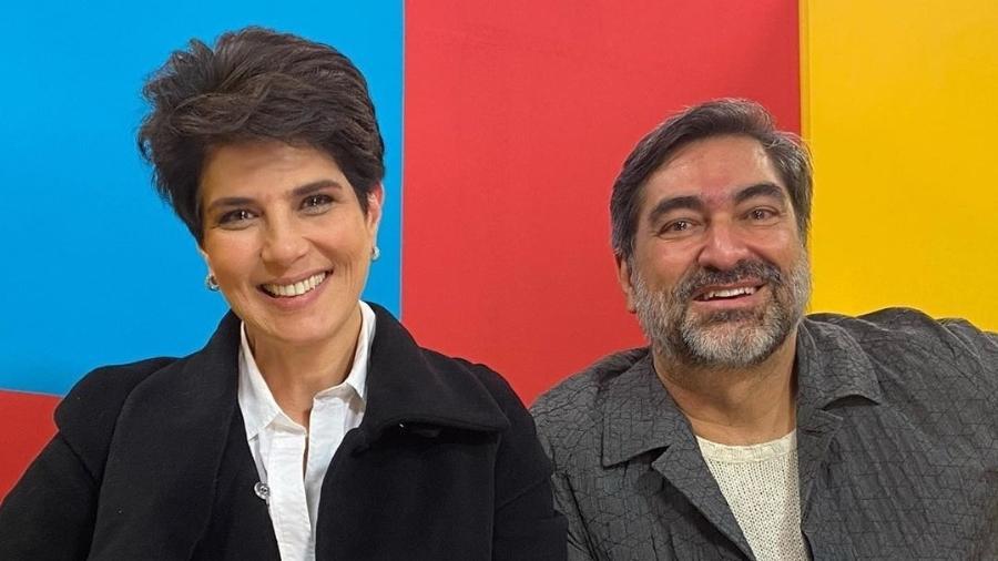 Mariana Godoy ao lado de Zeca Camargo estreiam em programa na Band - Reprodução/Instagram