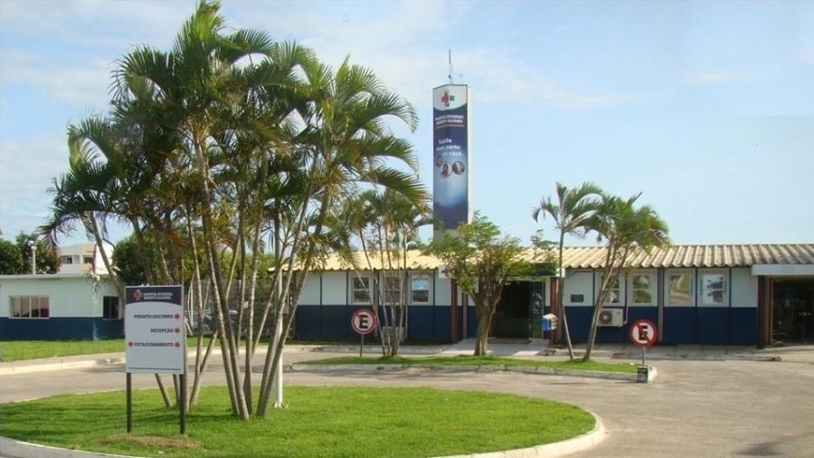 Hospital Estadual Roberto Silvares, em São Mateus (ES), onde a garota foi atendida - Divulgação/Secretaria de Saúde do Espírito Santo