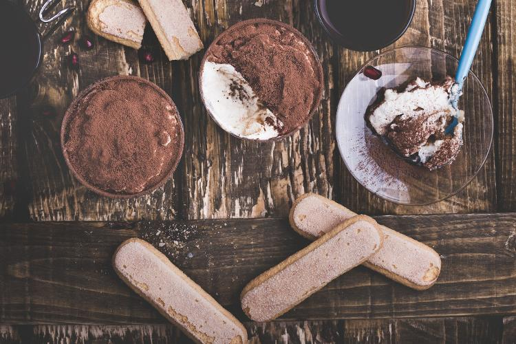 Champagne Biscuits, Coffee, Mascarpone Cheese ... Individual Goods - Getty Images - Getty Images