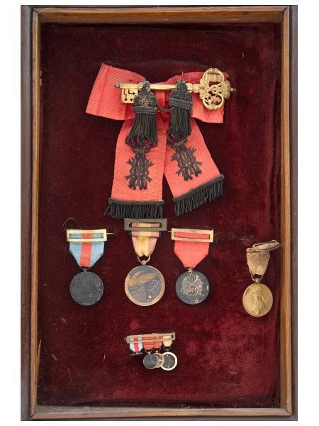 A chave do Palácio Real de Madri que irá a leilão - Reprodução/Morton Subastas