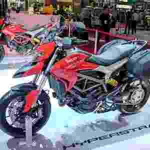 Ducati Hypertrada no Salão Duas Rodas 2015 - Doni Castilho/Infomoto