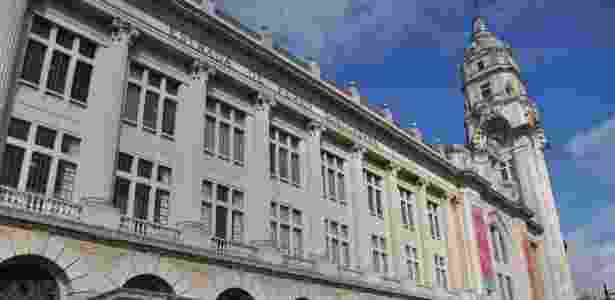 Fachada do edifício onde está a Sala São Paulo, Estação Júlio Prestes e Secretaria da Cultura do Estado - Renata Beltrão