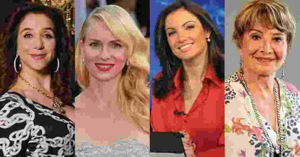 Librianos famosos - Divulgação/TV Globo/Getty Images