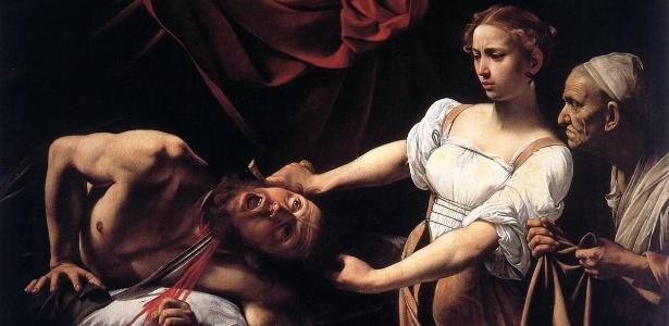 """08.abr.2016 - Imagem do quadro """"Judite e Holofernes"""" - Reprodução"""