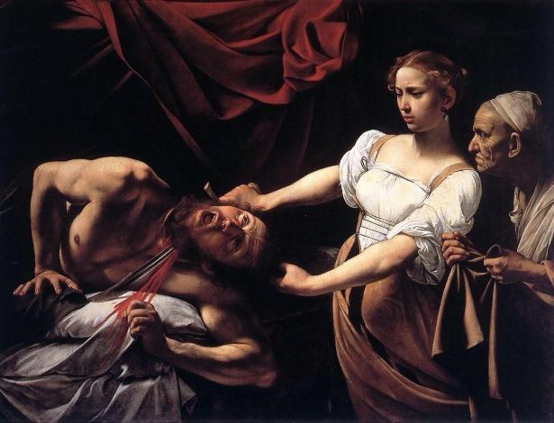 """Reprodução do quadro """"Judite e Holofernes"""", do pintor italiano Caravaggio - Reprodução"""