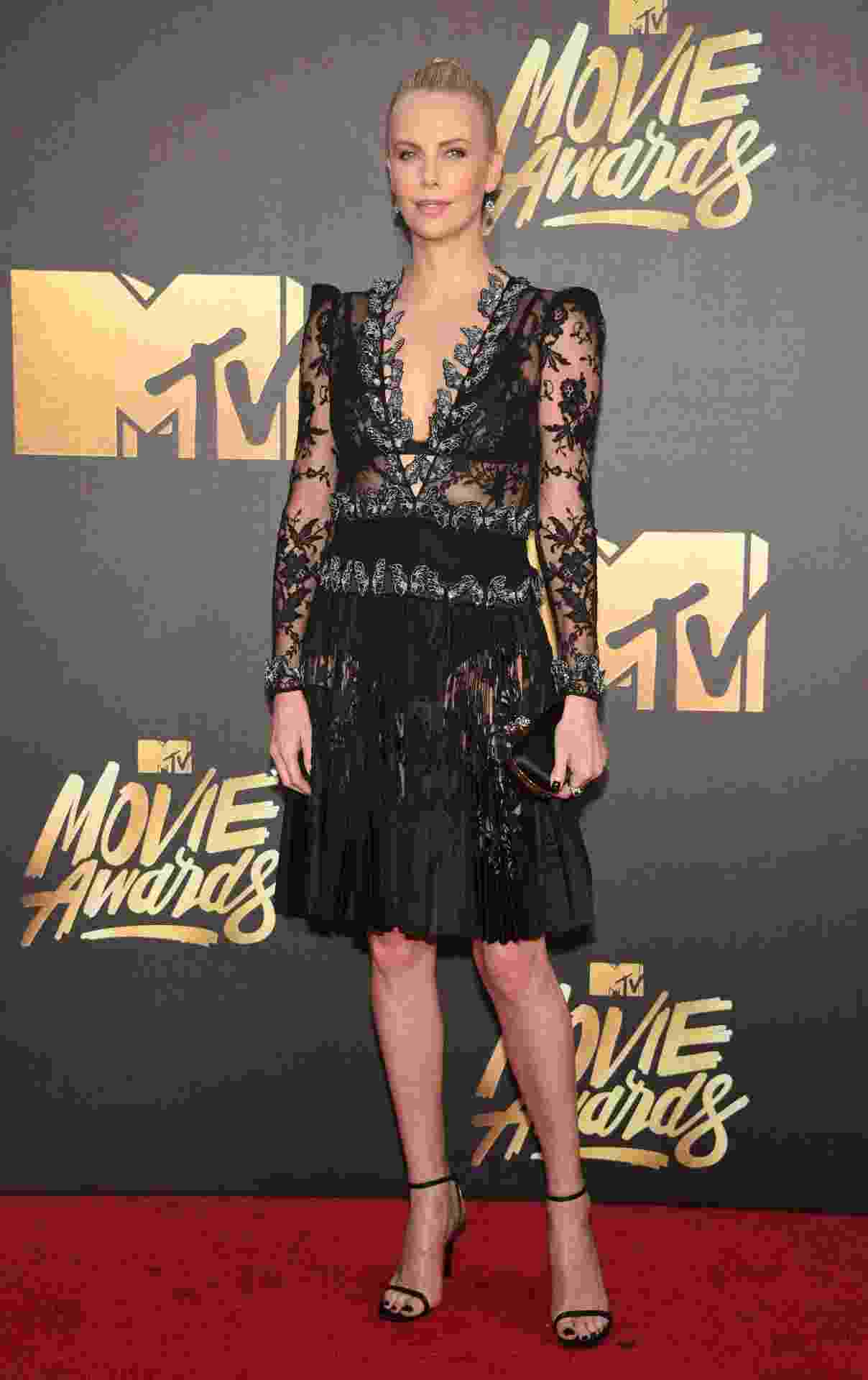 Charlize Theron no MTV Movie Awards 2016 - Reuters