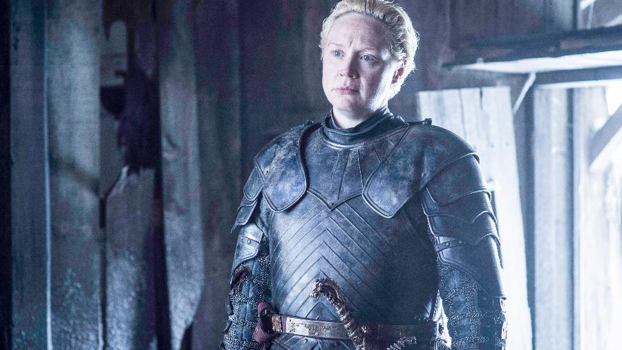 """Gwendoline Christie interpreta Brienne em """"Game of Thrones"""" - Divulgação/HBO"""