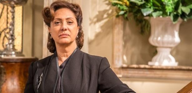 "Eliane Giardini é Anastácia em ""Êta Mundo Bom"" - Paulo Belote/TV Globo"