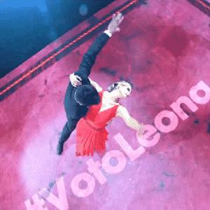 30.out.2016 - Todos os competidores ensaiaram durante a semana em um espaço montado nos estúdios da Globo, em São Paulo - Reprodução/TV Globo