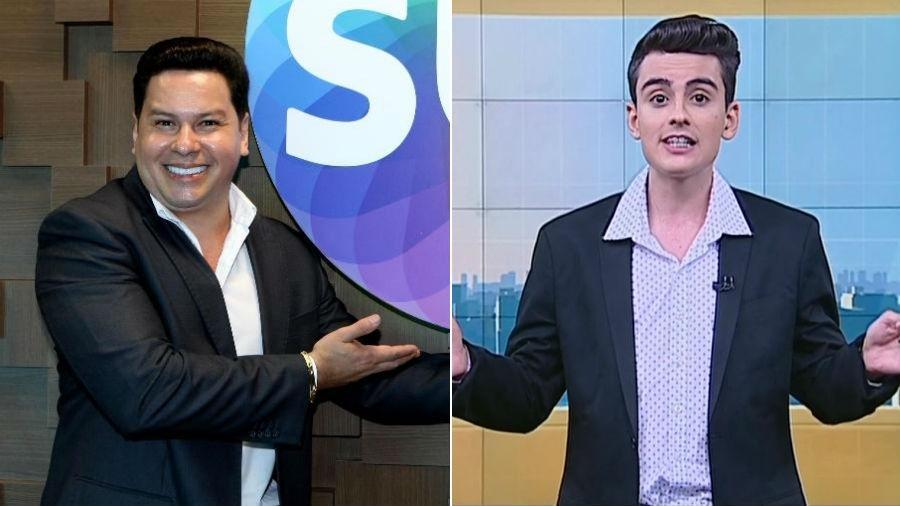 Marcão do Povo e Dudu Camargo vão apresentar novo telejornal do SBT - Divulgação/Reprodução/SBT