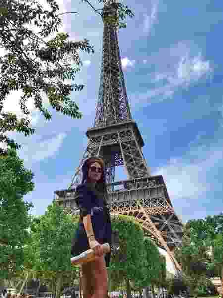 Thaila Ayala está curtindo Paris - Reprodução/Instagram