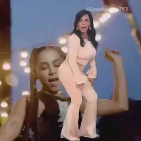 """Gretchen dança """"Paradinha"""" no """"TVZ"""", do Multishow - Reprodução"""