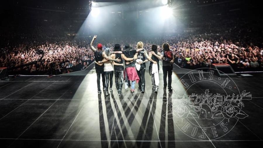 """Guns N"""" Roses volta a se apresentar em St. Louis 26 anos depois de causar confusão na cidade - Katarina Benzova/Divulgação"""